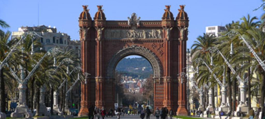 parking Arc de Triomf