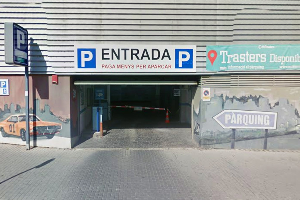 parking ave lleida